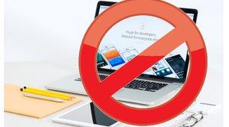 """Apple-Produkte in China: """"Wir müssen draußen bleiben"""""""