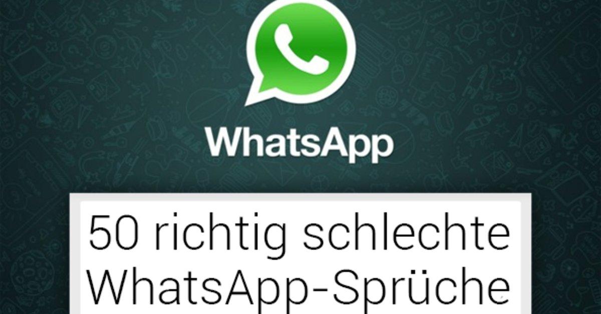 50 Richtige Schlechte Whatsapp Statuseinträge