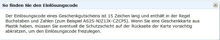 amazon-einloesungscode