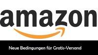 Amazon ändert Bedingungen für Gratisversand