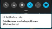 Weggewischte Android-Benachrichtigungen anzeigen – so geht's