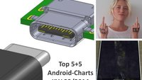 Android-Charts: Die androidnext-Top 5+5 der Woche (KW 33/2014)