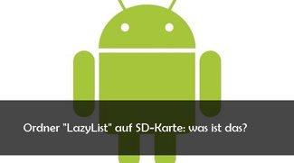 LazyList Ordner auf SD-Karte bei Android: Was ist das?