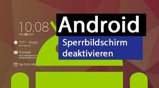 Android ohne Lockscreen: Sperrbildschirm deaktivieren – so gehts