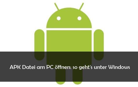 android apk öffnen