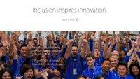 Apples Diversity-Bericht: Männer-Domäne auf allen Ebenen