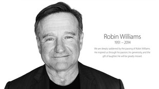 Apple erinnert an Robin Williams