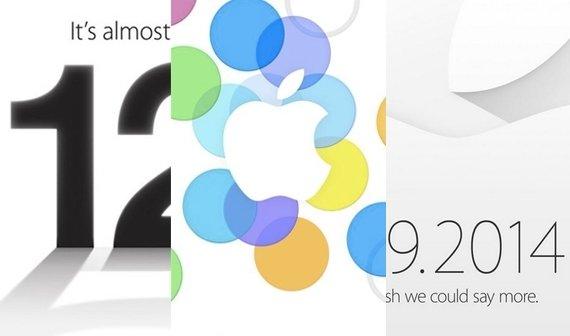 iPhone 6 Event: Die Einladungen von 2007 bis 2014 (Update)