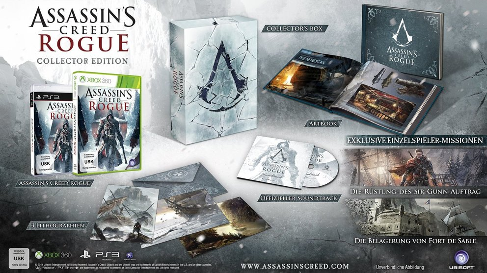 assassin's creed rogue collectors edition