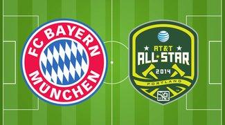 FC Bayern München - Major League Soccer Allstars: Wiederholung online auf Sport1 sehen