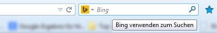 Bing: Im neuen Firefox wird Bing mittlerweile standardmäßig mitintegriert