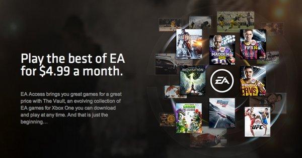EA Access: Es werden keine Spiele aus dem Angebot herausgenommen