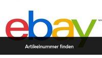 eBay Artikelnummer herausfinden und anzeigen lassen
