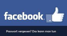 Facebook Passwort vergessen: Das kann man tun