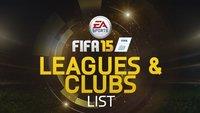 FIFA 15 Lizenzen: Alle Teams, Ligen und Stadien in der Übersicht