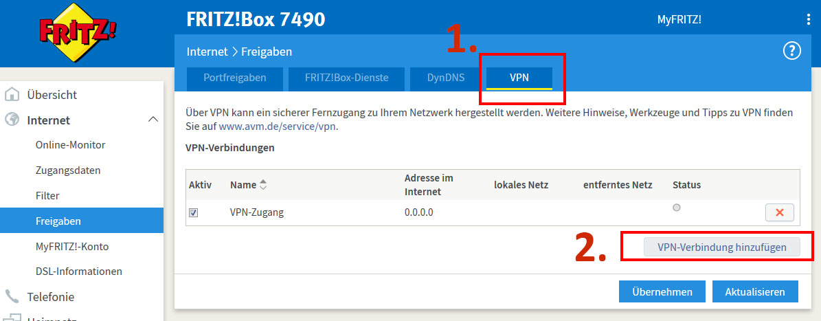 Android Fritzbox Vpn
