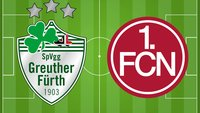 2. Bundesliga Live-Stream: SpVgg Greuther Fürth - 1. FC Nürnberg