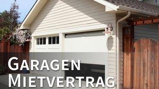 Vorlage: Mietvertrag für Garage