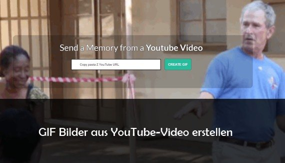 GIF Bilder aus YouTube erstellen: so geht's mit Online-Tool
