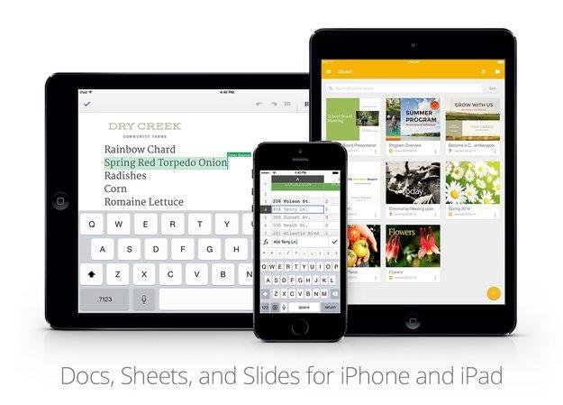 Google Präsentationen jetzt für iPhone und iPad erhältlich