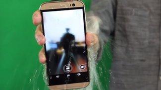 Ice Bucket Challenge: HTC One M8 & Nokia Lumia 930 überstehen Eisdusche