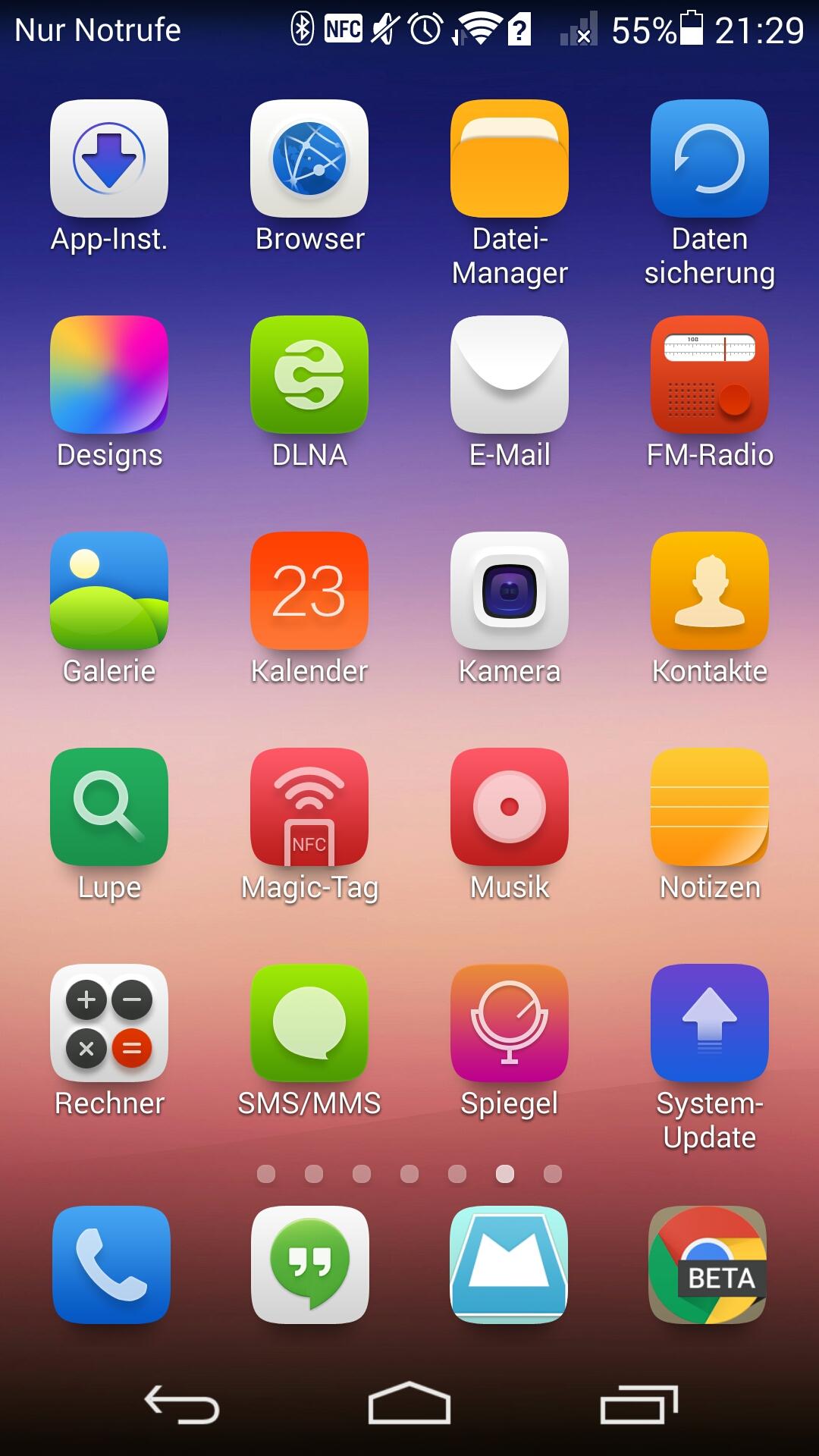 Emotion Ui Die Software Des Huawei Ascend P7