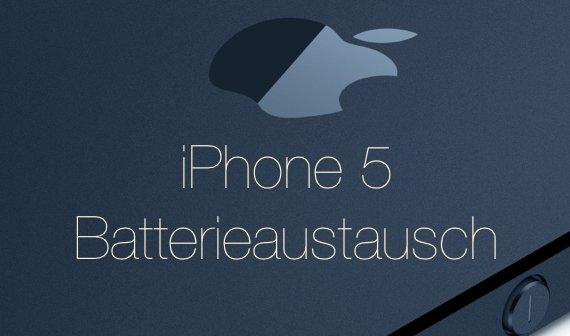 Apple startet Batterieaustauschprogramm für iPhone 5