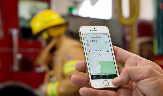 iPhone 5s: Neuer Werbespot zeigt Brandbekämpfung und mehr