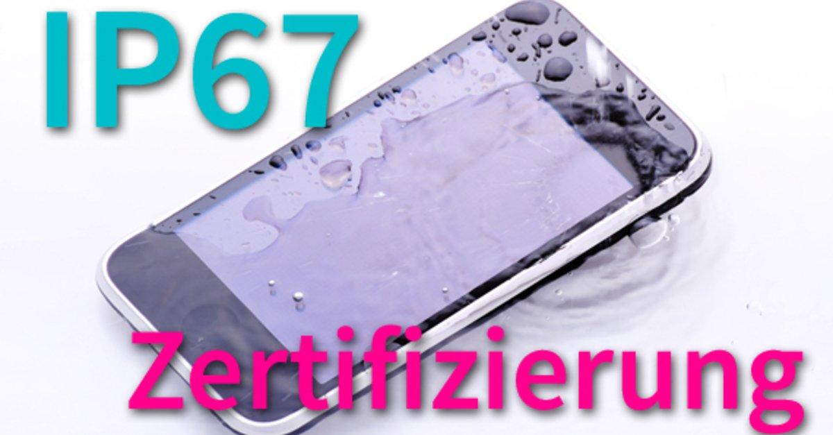 IP65, IP67 & IP68-Smartphone-Zertifizierung/-Schutzklasse: Was bedeutet das?