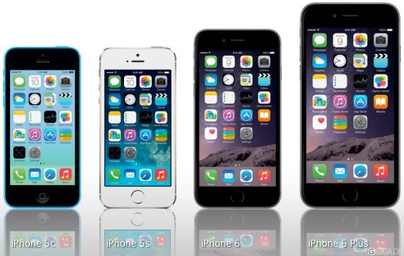 iphone 6 6 plus iphone 5s und 5c im vergleich welches. Black Bedroom Furniture Sets. Home Design Ideas