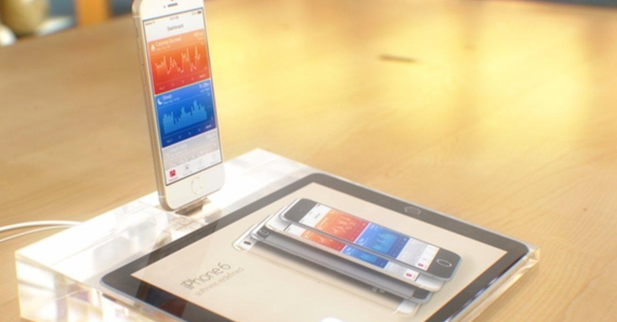 iphone 6 im apple store und neue verpackung bild 6 bilderserie giga. Black Bedroom Furniture Sets. Home Design Ideas
