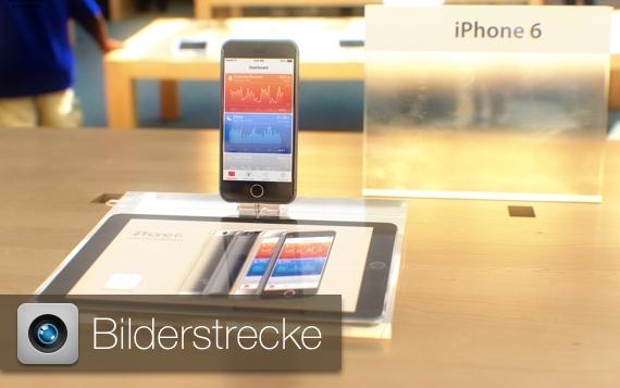 iphone 6 konzeptbilder im apple store und von der verpackung giga. Black Bedroom Furniture Sets. Home Design Ideas