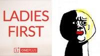 """OnePlus One: """"Ladies First""""-Wettbewerb um Invites nach Sexismus-Vorwürfen eingestellt"""