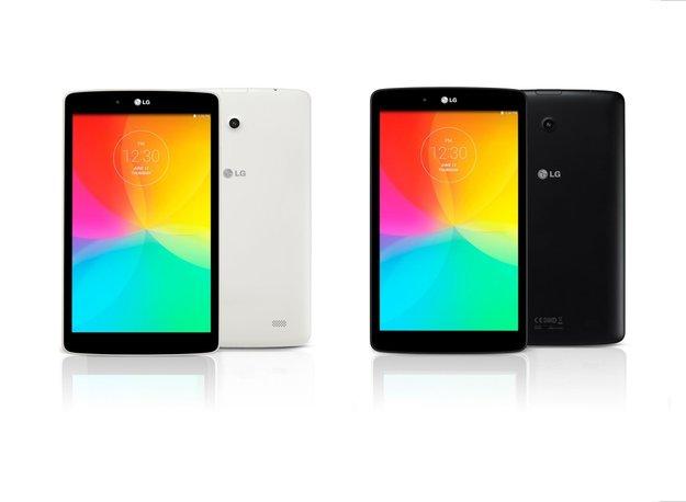 LG G Pad 8.0: LTE-Variante des Mittelklasse-Tablets vorgestellt