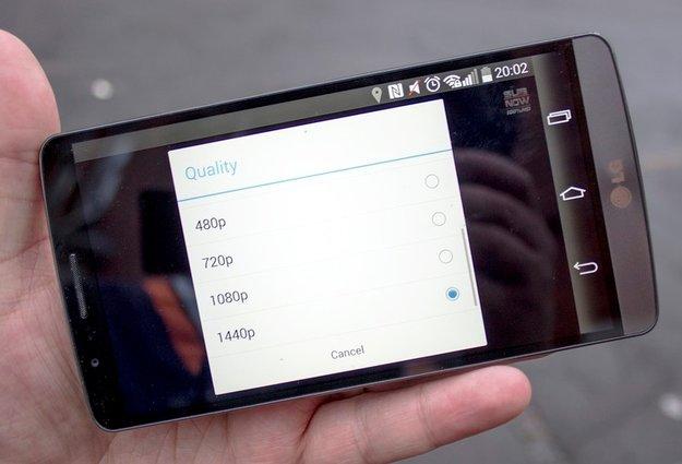 YouTube für Android: Videos auf WQHD-Geräten wie LG G3 bald auch in 1440p-Auflösung