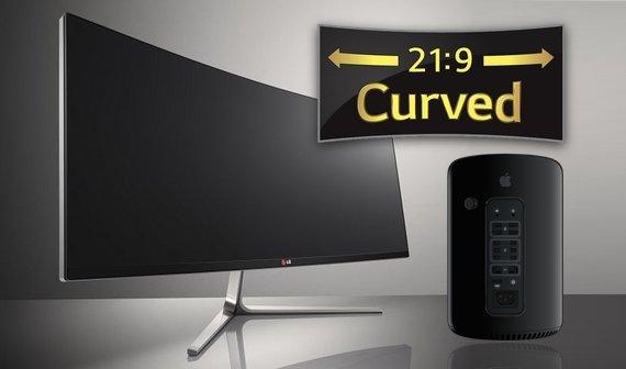 Thunderbolt-2-Monitor mit gekrümmten Display: LG 34UC97 Curved jetzt lieferbar (Update)