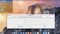 OS X 10.10 Yosemite: Zeitsteuerung des Dark Mode
