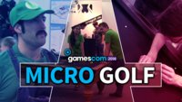 gamescom 2014: GIGA rettet deinen Stand - Micro Golf
