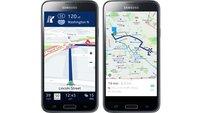 Nokia HERE: Galaxy S5, Gear S und weitere Samsung-Geräte erhalten kostenlose Offline-Navigation