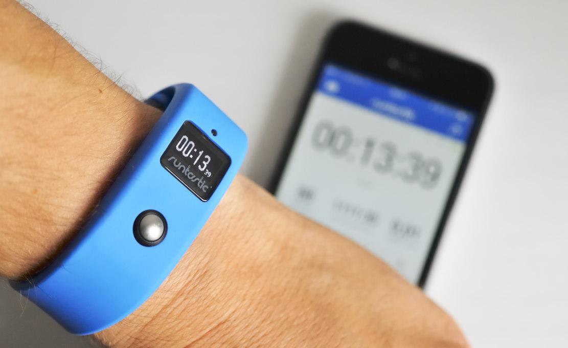 Ebenfalls mir der Runtastic-App koppelbar: Sport-Tracker Runtastic Orbit.