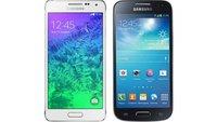 Samsung Galaxy Alpha vs. Galaxy S5 mini: Technische Daten im Vergleich