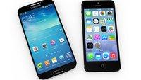 Smartphone-Weltmarkt: Samsungs Vorsprung auf Apple schmilzt
