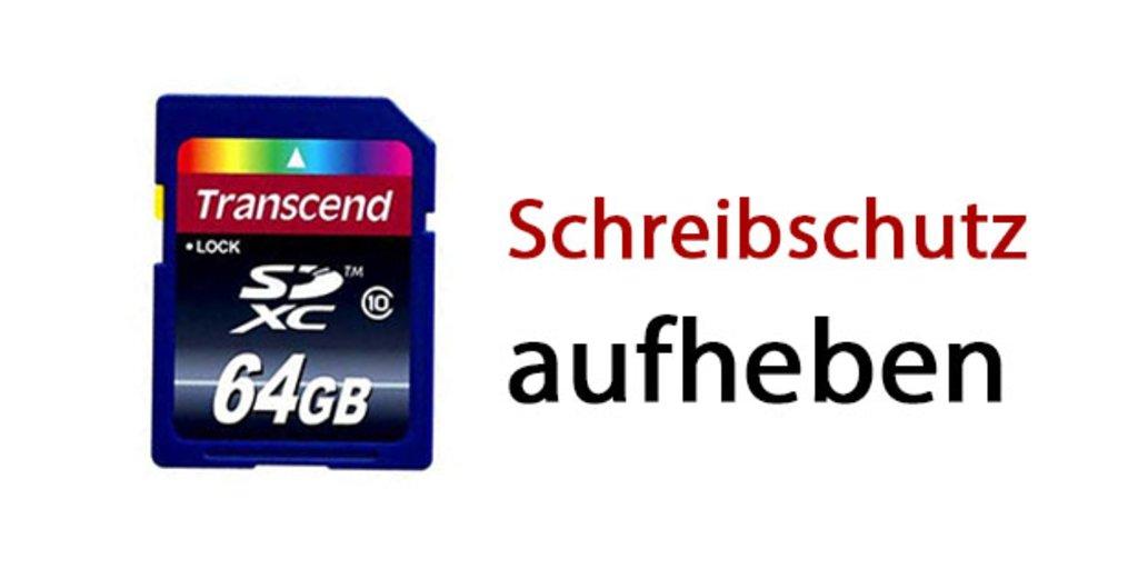 android sd karte schreibschutz aufheben SD Karte: Schreibschutz aufheben – so geht's