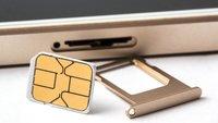 Lösung: SIM-Karte wird nicht erkannt