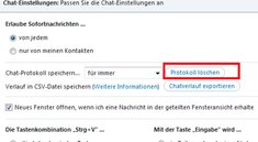 Skype Verlauf löschen – so einfach geht's