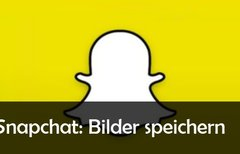 Snapchat: Bilder speichern –...