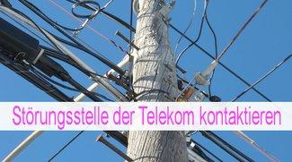 Telekom-Störung: Störungsstelle kontaktieren
