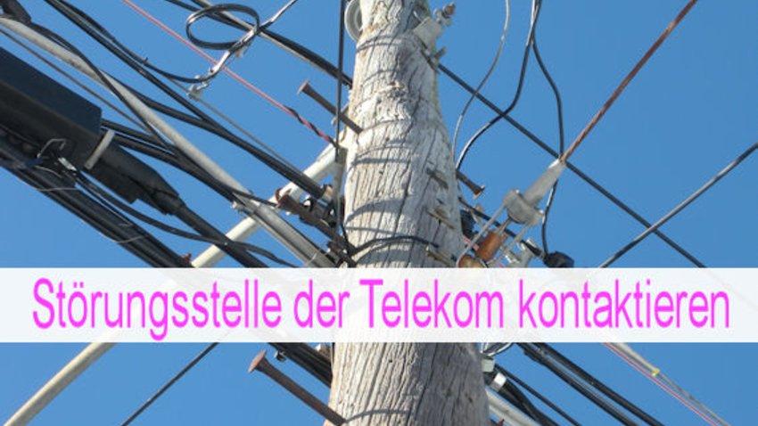 Störungsstelle Telekom