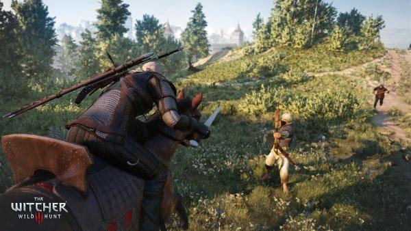 The Witcher 3 Wild Hunt: Neuer TV-Spot zeigt Geralt auf der Jagd