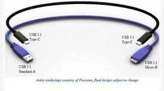 USB 3.1: So sieht der Typ-C für Smartphones & Co. aus!